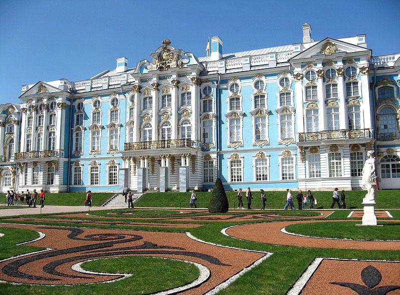 Russie for Les jardins de catherine